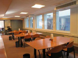 salle travaille de la bibliothèque